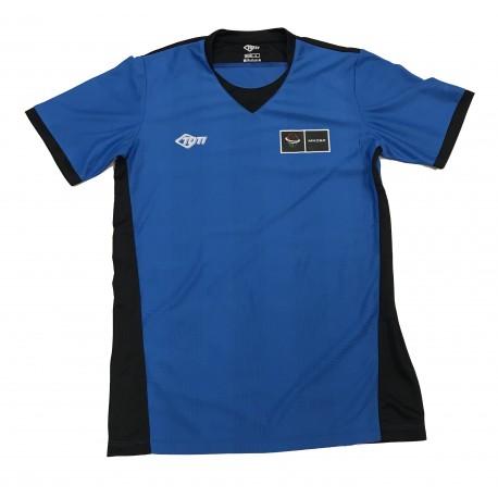 Játékvezetői mez (kék-fekete színben)
